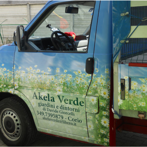 AKELA VERDE Wrapping completo