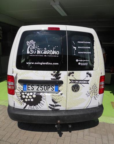 Furgone SU IN GIARDINO - Wrapping completo